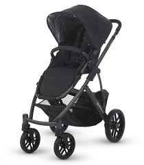 Uppababy Vista 2015 Pushchair, Jake Black - Grade 1