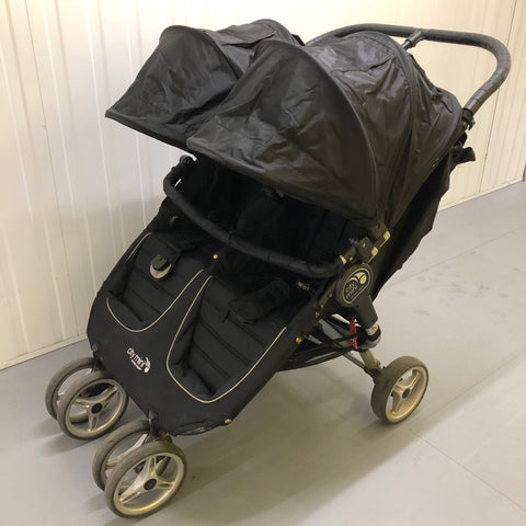 Baby Jogger City Mini Double, Black - Grade 2