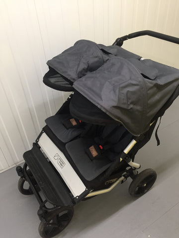 Mountain Buggy Duet V2.5 (Double/Twin Pushchair), Black - Grade 2