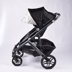 Uppababy Vista 2015 Version Pram System, Jake Black - Grade 2