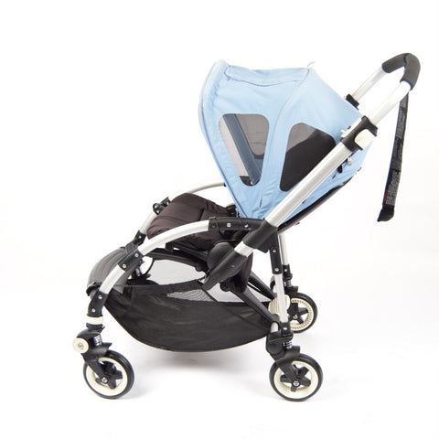 Bugaboo Bee+, Black+Breezy Blue Canopy - Grade 2