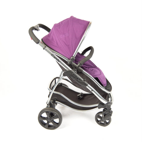 iCandy Strawberry Pushchair, Elderberry - Grade 1