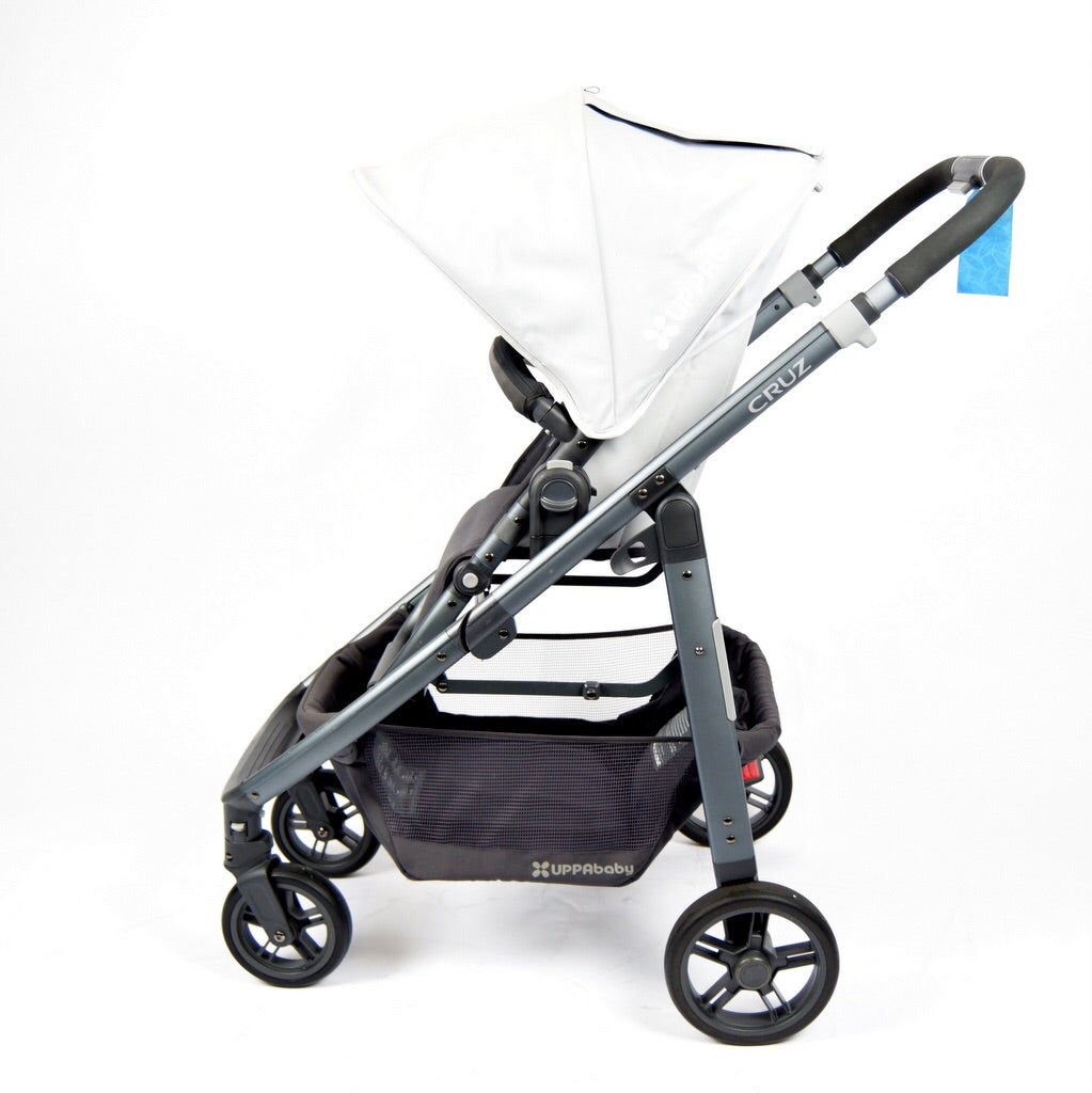 Uppababy Cruz, Black+Pascal Grey - Grade 2