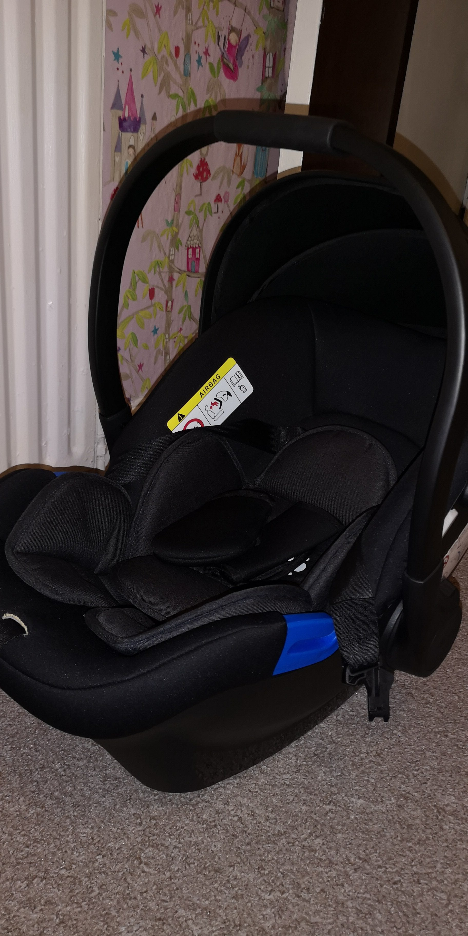 Panorama XT by Babylo 2-in-1 Travel System & Car Seat, Black - Grade 1