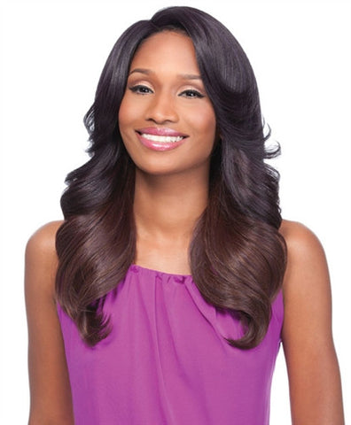 Sensationnel Empress Natural Synthetic C-Part Lace Front Edge Wig SHASHA