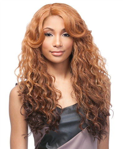 Sensationnel Empress Natural Synthetic U-Part Lace Front Edge Wig ISABEL