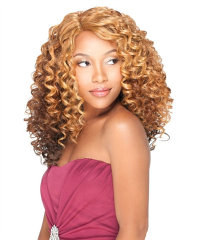 Sensationnel Empress Natural Synthetic U-Part Lace Front Edge Wig GINA