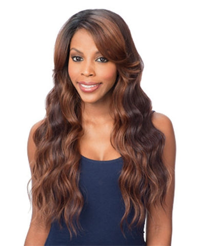 Freetress Equal Lace Deep Diagonal Part Lace Front Wig PEACH BLOSSOM -LOWEST PRICE EVER!