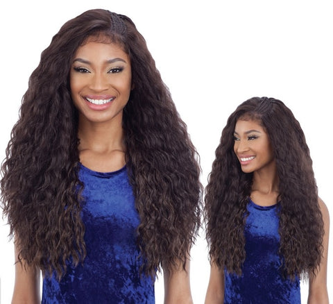 Freetress Equal Braided Edge Frontal Lace Wig BLW 001