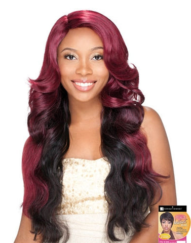 Sensationnel Totally Instant Weave Synthetic Wig PRIMROSE -LOWEST PRICE EVER!