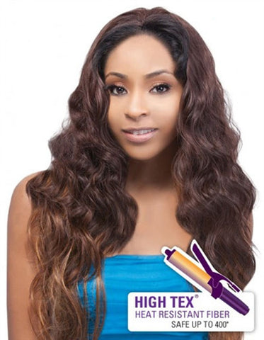 Outre Quick Weave Synthetic Half Wig LESLEY