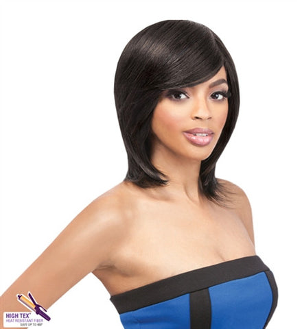 Outre Quick Weave ECO Synthetic Wig NATURAL YAKI 12""