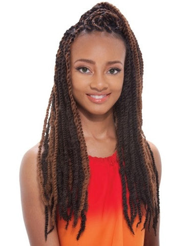 Janet Collection Synthetic Braid AFRO TWIST BRAID