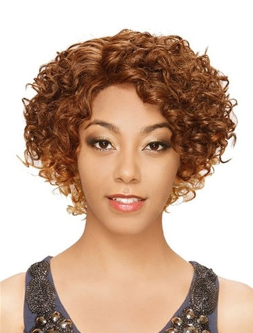 Hollywood SIS Invisible Top Part Lace Front Wig IV-LACE H EBONY