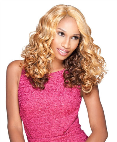 Sensationnel Empress Natural Synthetic L-Part Lace Front Edge Wig KEESHA