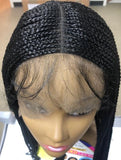 Freetress Equal Synthetic Lace Front Wig LONG BOX BRAIDS