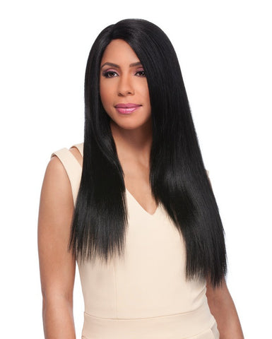 Sensationnel Empress Synthetic Custom Lace Front Edge Wig YAKI 24 -LOWEST PRICE EVER!