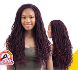 "Freetress Synthetic Crochet Braiding Hair GORGEOUS LOC 18""(GODDESS LOC)"