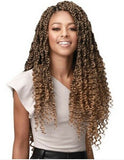 Bobbi Boss Synthetic Crochet Braid BOHEMIAN BOX BRAID WITH WATER CURL TIPS 20""