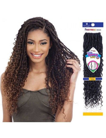 Freetress Synthetic Crochet Braid Hair HIPPIE LOC 20""