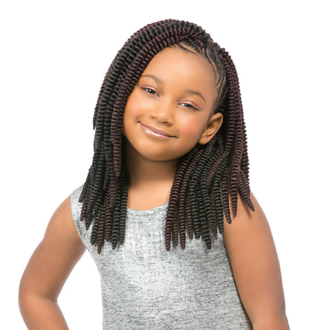 Sensationnel Synthetic Crochet Braiding Hair KIDS SASSY 12""
