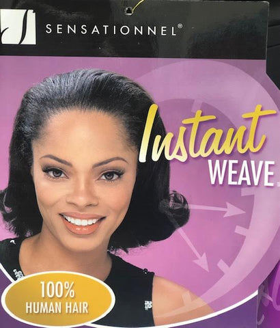 Sensationnel 100%  Human Hair Half Wig HZ-8006