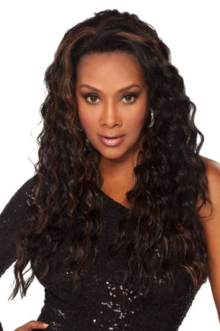 Vivica A. Fox Deep Synthetic Lace Front Wig AUGUSTA-V