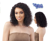 "Shake-N-Go Brazilian Natural Human Hair Naked 5"" Lace Part Wig AVERY"