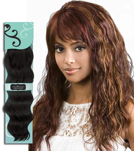 "SPECIAL!!! Bobbi Boss IndiRemi OCEAN WAVE 12""  Jet Black"