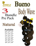 Sphinx BUENO Body Wave Hair 3 Pack Bundle