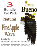 Sphinx BUENO PineApple Wave Hair 3 Pack Bundle