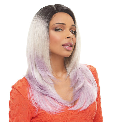 Janet Collection Brazilian Scent Human Blend Lace Wig RAY  -LOWEST PRICE EVER!