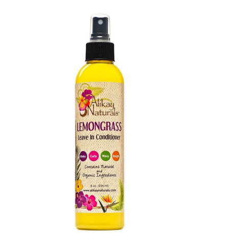 Lemongrass Leave In Conditioner 8 oz