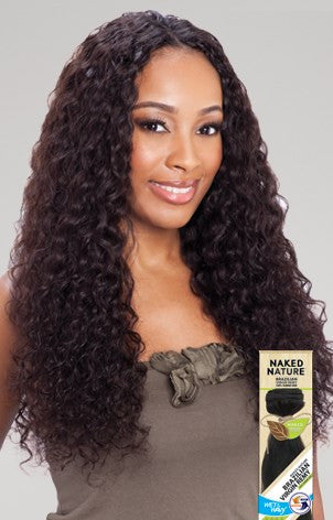 Shake-N-Go  NAKED NATURE WET & WAVY BRAZILIAN DEEP WAVE