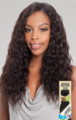 Shake-N-Go  NAKED NATURE WET & WAVY BRAZILIAN LOOSE DEEP WAVE