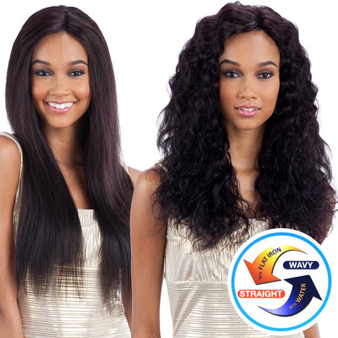 "Naked Nature Brazilian Vigin Remy Wet & Wavy LOOSE CURL 7PCS 14""14""16""16""18""18"""