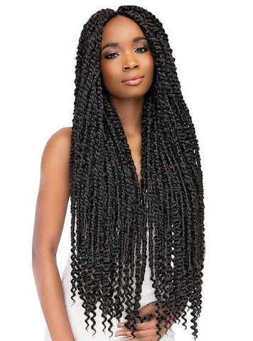 Janet Collection Nala Tress Synthetic Crochet Braid Hair PASSION TWIST BRAID 24""