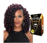 Zury Synthetic Crochet Braiding Hair V8910 ROD SET - 1PACK ENOUGH