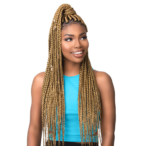 Sensationnel African Collection 3X RUWA Pre-Stretched Synthetic Braiding Hair 3 PACKS - Multi Pack Special