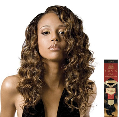 SAGA Remi Human Hair FINGER ROLL 14""