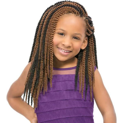 Sensationnel Synthetic Crochet Braiding Hair KIDS SENEGAL TWIST 12""