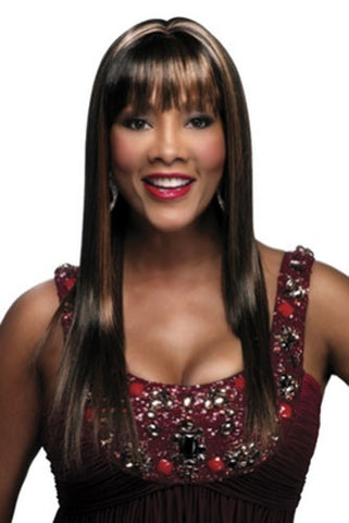 Vivica A. Fox Synthetic Pure Stretch Cap Wig JAZZELLE-V