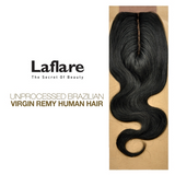 LaFlare Unprocessed Brazilian Virgin Remy Human Hair Weave Body Wave Closure
