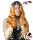 New Born Free Synthetic Magic Lace Front Curved Part Wig MLC151