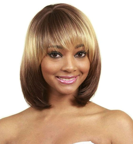 Junee Manhattan Style Synthetic Full Wig IVAN
