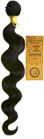 LaFlare Brazilian Virgin Remy Hair NATURAL BODY