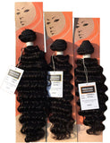 LaFlare Peruvian 100% Virgin Remy Hair LOOSE DEEP 3 Bundle Deals