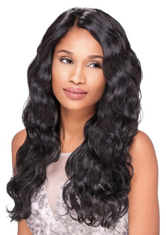 Sensationnel Empress Synthetic Custom Lace Front Edge Wig BODY WAVE