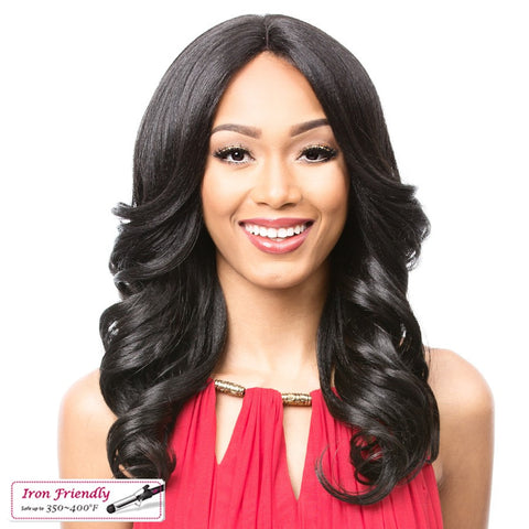 It's a Wig Synthetic Swiss Lace Front Wig LOVITA -LOWEST PRICE EVER!