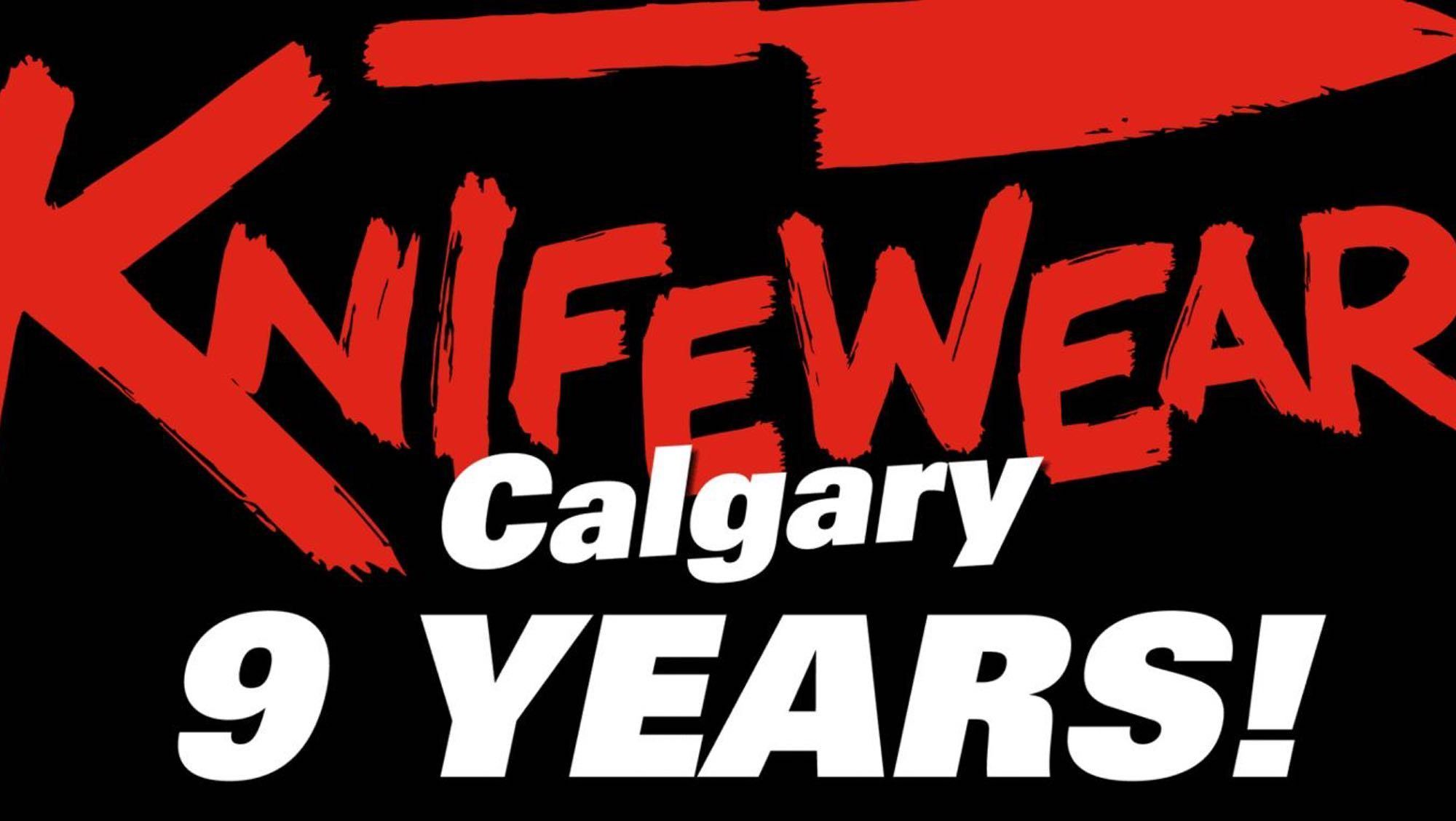 Knifewear Calgary opened today in 2009